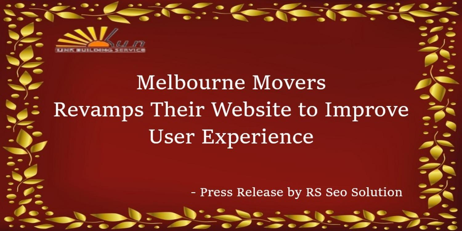 Melbourne Movers Revamps Their Website to Improve User Experience