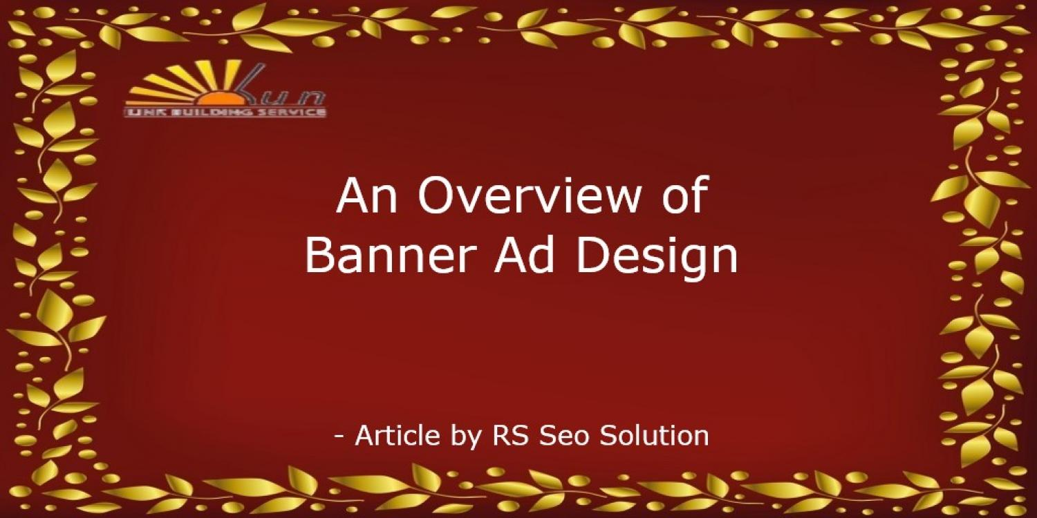 An Overview of Banner Ad Design