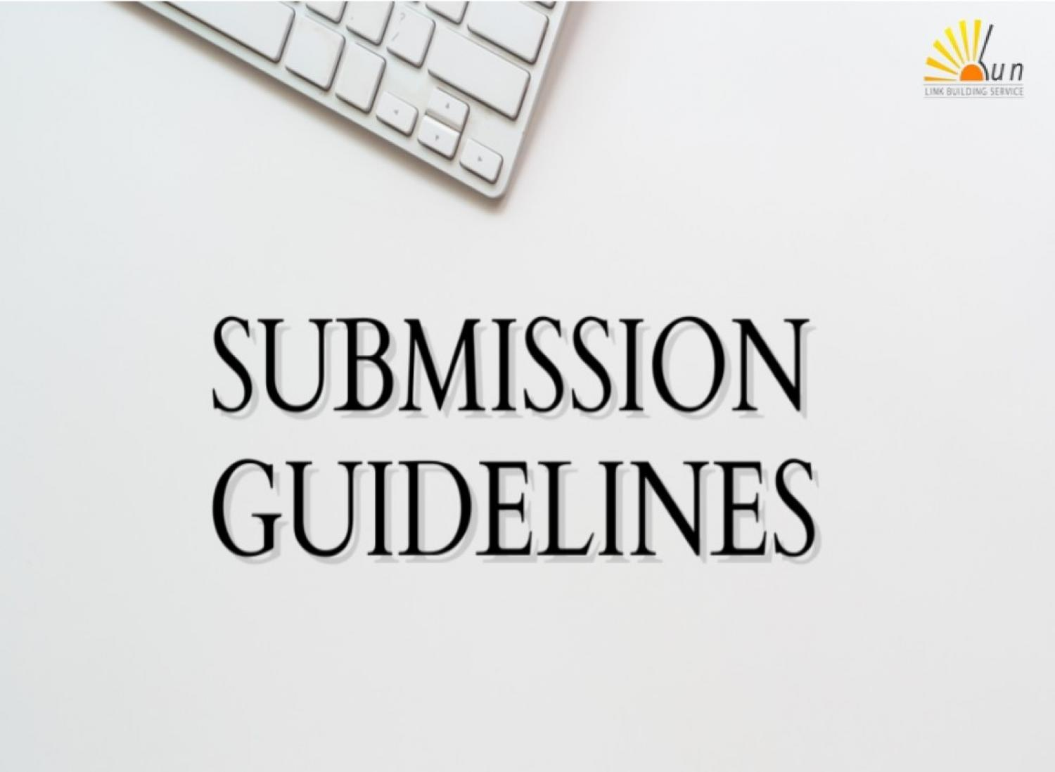Manual Directory Submission Guidelines And Tips
