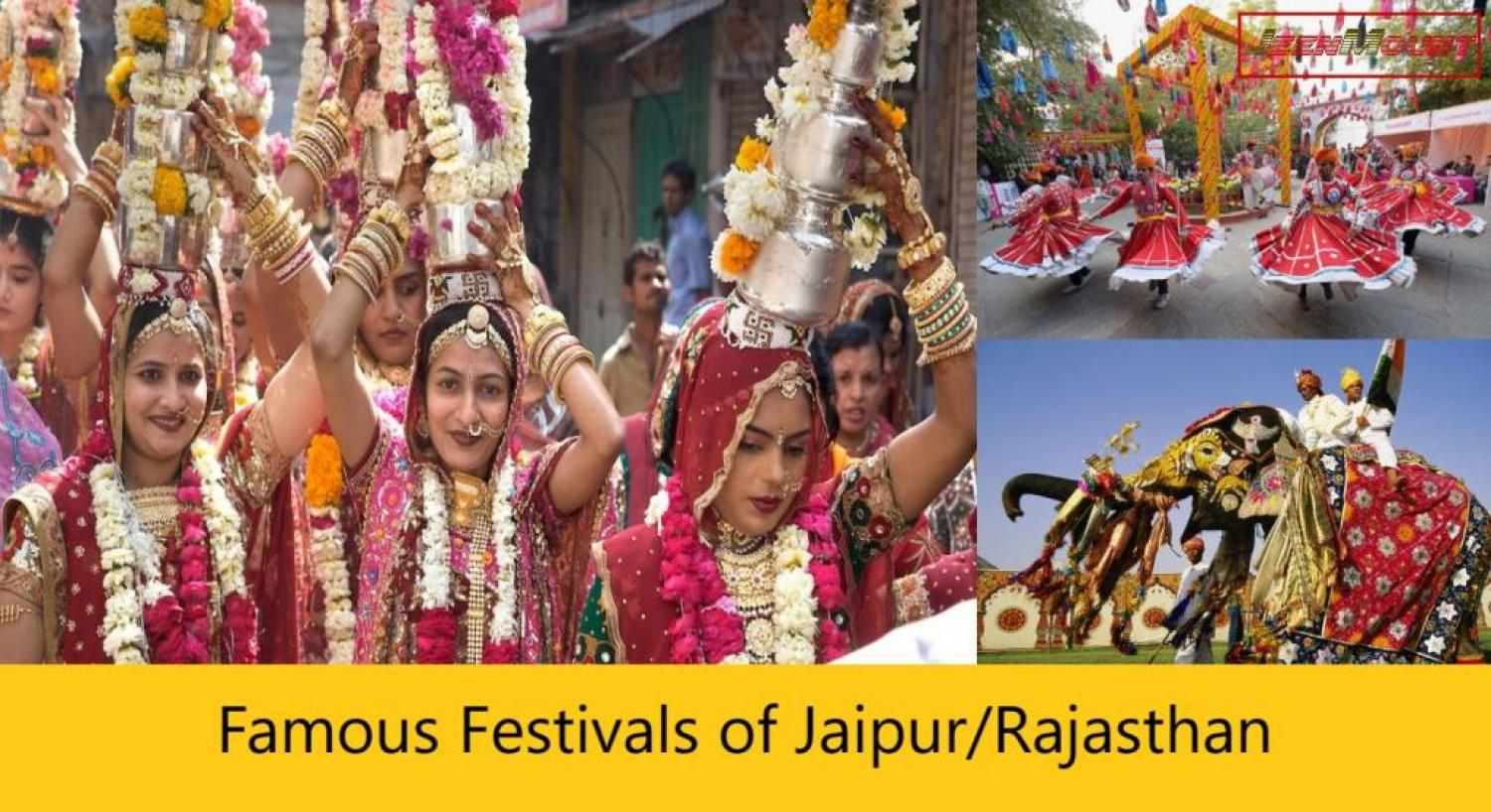 Top and Famous Festivals in Jaipur and Rajasthan