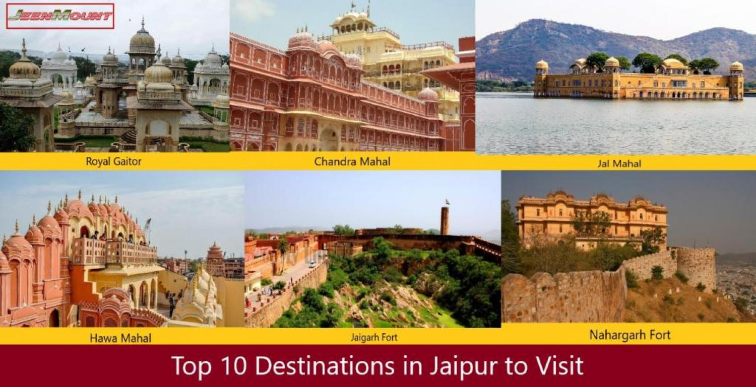 Top 10 Best Destinations of Jaipur to Visit
