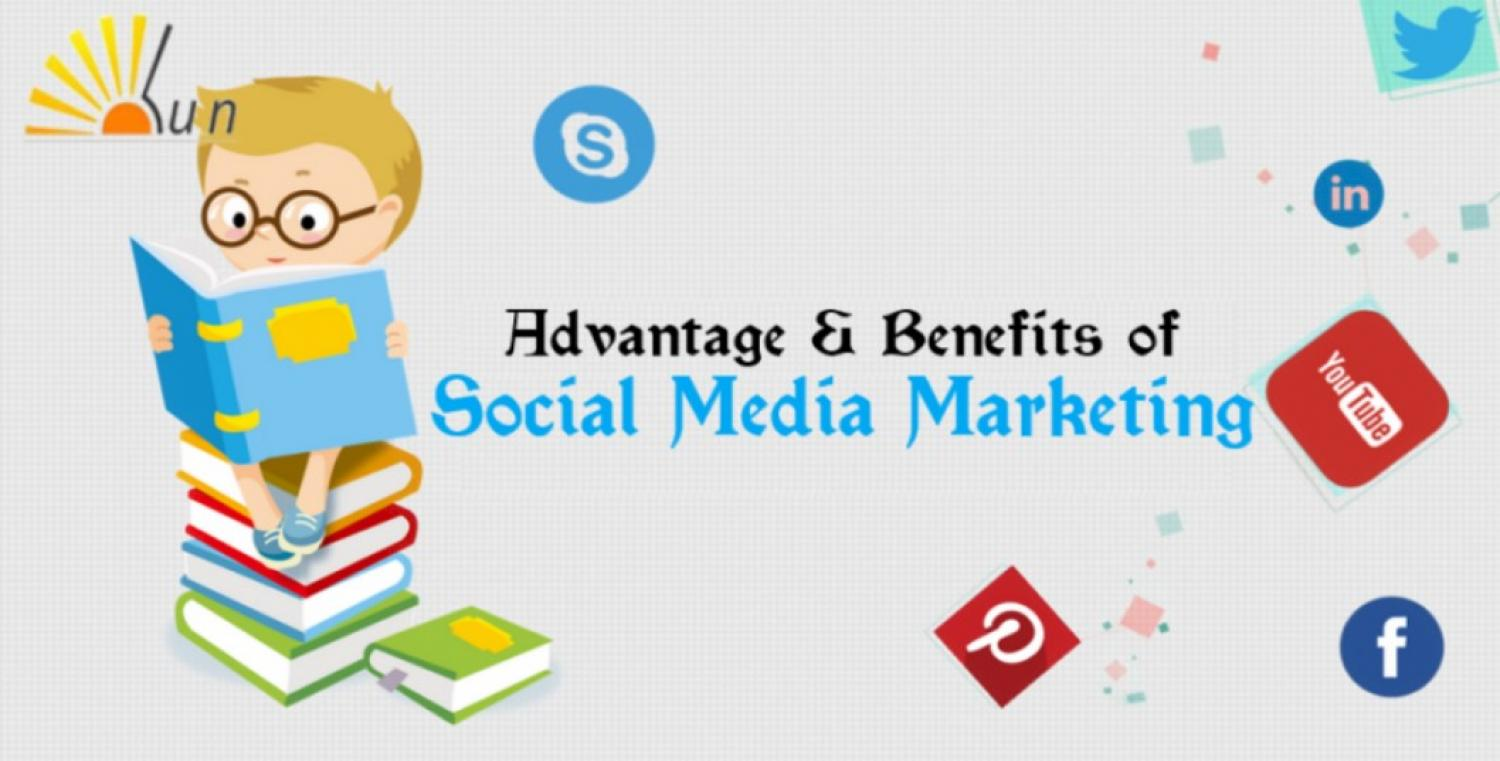 Advantage and Benefits of Complete Social Media Marketing