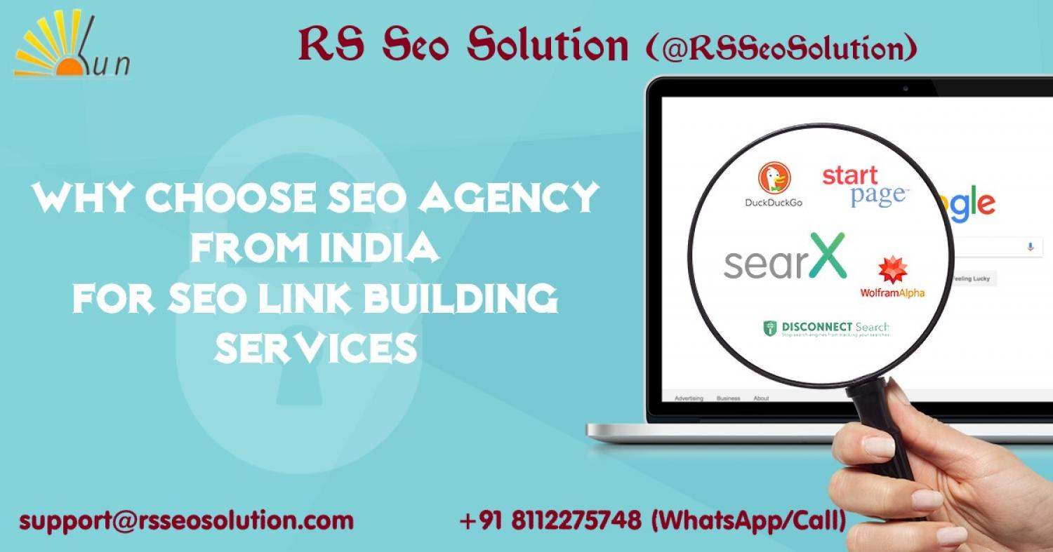 Why Choose SEO Agency from India for Link Building