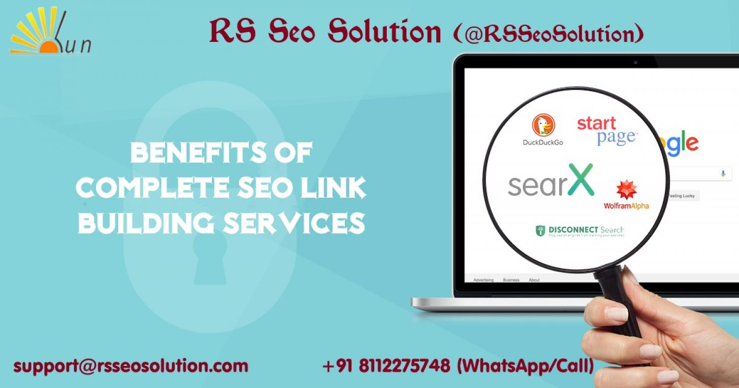 Benefits of Complete SEO Link Building Service Packages