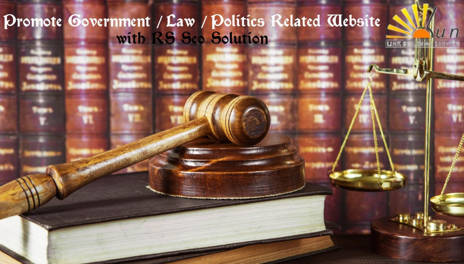 Government, Law and Politics