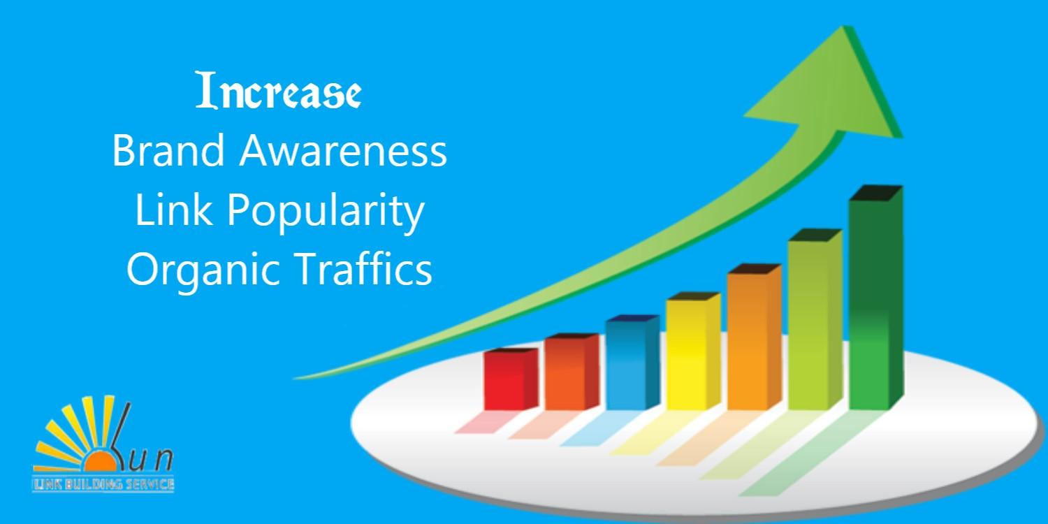 How To Increase Online Branding, Link Popularity And Organic Traffics?