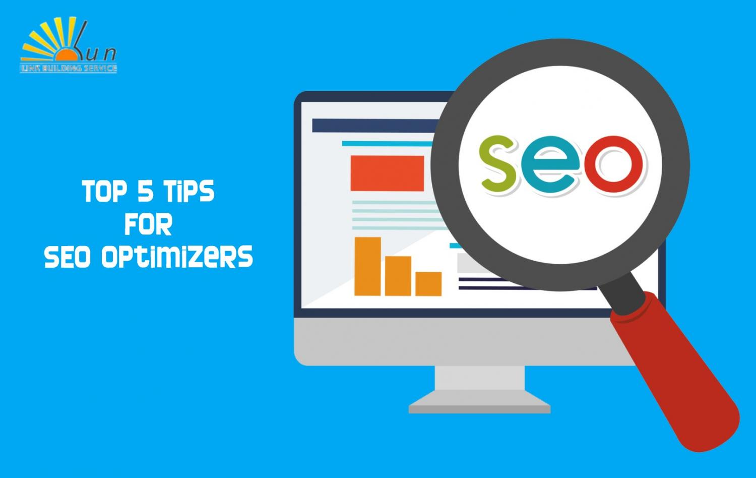 Top Five Tips for Novice SEO Optimizers