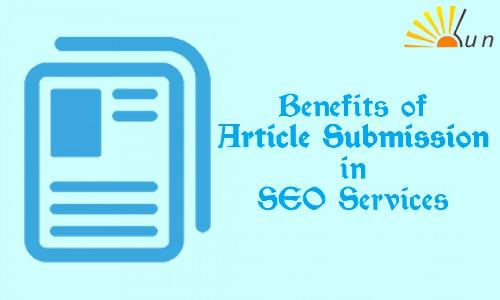 Benefits and Use of Articles Submission in SEO Services
