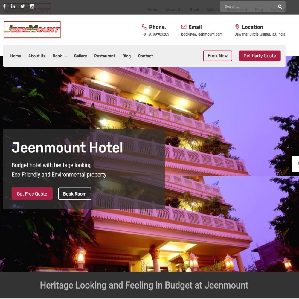 Jeenmount Hotel and Resort (https://www.jeenmount.com)