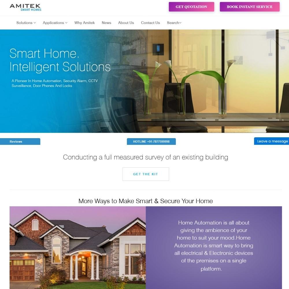 Amitek Smart Homes (https://amiteksmarthomes.com)
