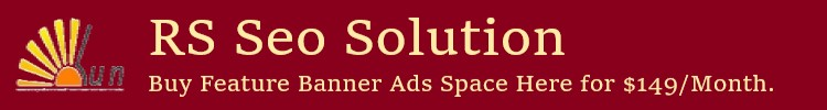 RS Seo Solution Banner