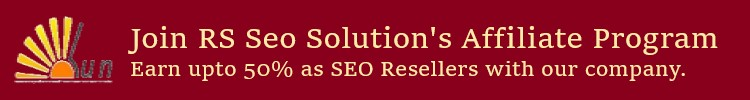 RS Seo Solution Affiliate Program
